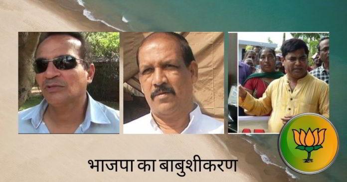 भाजपा का बाबुशीकरण