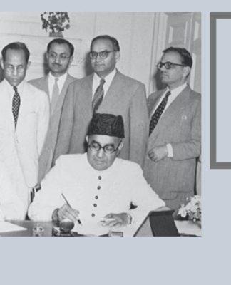 नेहरू-लियाकत 1950 का समझौता। भारत और पाकिस्तान के प्रधानमंत्रियों जवाहरलाल नेहरू और लियाकत अली खान के बीच क्रमशः इस समझौते ने अपने-अपने देशों में अल्पसंख्यकों की सुरक्षा सुनिश्चित करने का वादा किया था।